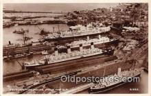 shi062022 - Southampton Docks  Ship Postcard Post Card