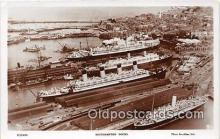 shi062023 - Southampton Docks  Ship Postcard Post Card