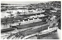 shi062024 - Southampton Docks  Ship Postcard Post Card