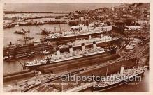 shi062025 - Southampton Docks  Ship Postcard Post Card