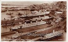 shi062026 - Southampton Docks  Ship Postcard Post Card