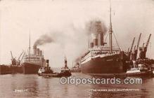shi062028 - Ocean Dock Southampton Ship Postcard Post Card