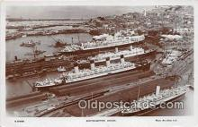shi062035 - Southampton Docks  Ship Postcard Post Card