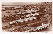 shi062036 - Southampton Docks  Ship Postcard Post Card