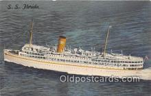 shi062054 - SS Florida Nassau Cruise Miami, Florida Ship Postcard Post Card