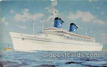 shi062057 - SS Australis, Chandris Lines New Zeland Ship Postcard Post Card