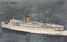 shi062058 - SS Florida Nassau Cruise Miami, Florida Ship Postcard Post Card