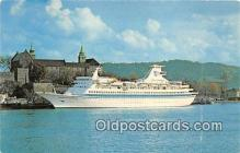 shi062059 - Royal Caribbean Cruise Line MS Sun Viking Ship Postcard Post Card