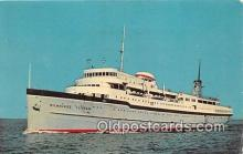 shi062060 - SS Milwaukee Clipper Lake Michigan Ship Postcard Post Card