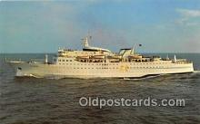 shi062064 - Sunward, Cruises Miami to Nassau Ship Postcard Post Card