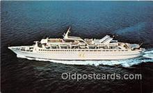 shi062067 - MS Skyward Norwegian Caribbean Lines Ship Postcard Post Card