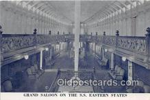 shi062077 - Grand Saloon SS Eastern States Ship Postcard Post Card