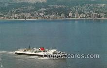 shi062081 - Princess of Vancouver Vancouver, BC Ship Postcard Post Card