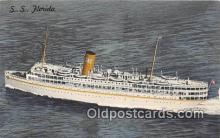 shi062083 - SS Florida Nassau Cruise Miami, Florida Ship Postcard Post Card