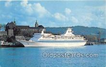 shi062092 - Royal Caribbean Cruise Line MS Song of Norway, Miami, Florida Ship Postcard Post Card