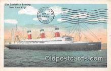 shi062095 - Leviathan New York City Ship Postcard Post Card