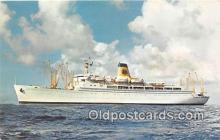 shi062102 - SS Monterey Matson Lines Luxury Liner Ship Postcard Post Card