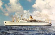 shi062103 - SS Mariposa Matson Lines Luxury Liner Ship Postcard Post Card