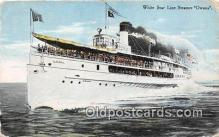 shi062110 - White Star Line Steamer Owana  Ship Postcard Post Card
