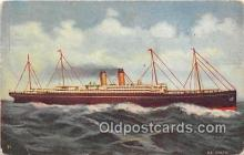 shi062112 - Steamship Baltic White Star Fleet Ship Postcard Post Card