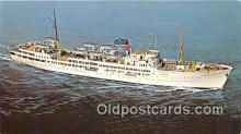 shi062123 - SS Ariadne Eastern Steamship Lines, Inc Ship Postcard Post Card
