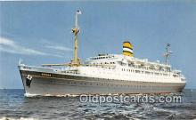 shi062125 - SS Ryndam Holland America Line Ship Postcard Post Card