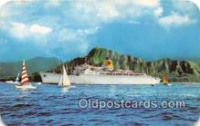 shi062127 - SS Mariposa, SS Monterey Oceanic Steamship Ship Postcard Post Card