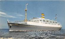 shi062128 - SS Ryndam Holland American Line Ship Postcard Post Card
