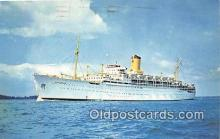 shi062139 - Chusan P & O Orient Lines Ship Postcard Post Card