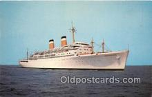 shi062144 - SS Independence American Export Isbrandtsen Lines Ship Postcard Post Card