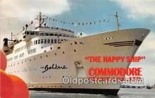 shi062153 - MS Boheme Caribbean Cruising Ship Postcard Post Card