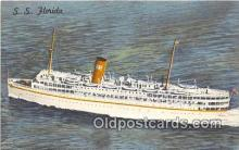 shi062154 - SS Florida Miami, Florida USA Ship Postcard Post Card