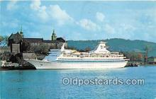 shi062164 - Royal Caribbean Cruise Line MS Nordic Prince Ship Postcard Post Card