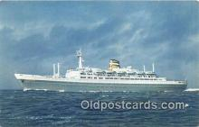 shi062175 - SS Statendam Holland American Line Ship Postcard Post Card