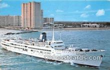 shi062188 - SS Ariadne Miami, Florida USA Ship Postcard Post Card