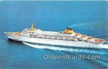 shi062195 - Oceanic Home Lines Ship Postcard Post Card