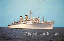 shi062203 - SS Independence American Export Isbrandtsen Lines Ship Postcard Post Card