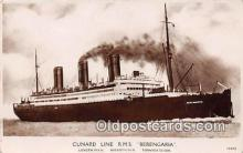 shi062209 - Cunard Line RMS Berengaria  Ship Postcard Post Card