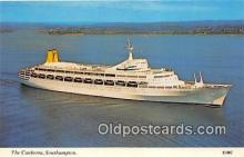 shi062212 - Canberra Southampton Ship Postcard Post Card