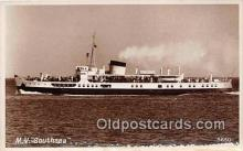 shi062215 - MV Southsea  Ship Postcard Post Card