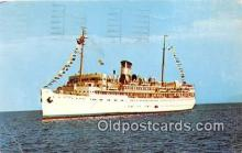 shi062220 - SS Yarmouth Fun Ship Ship Postcard Post Card
