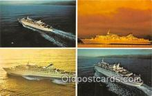shi062223 - Norwegian Caribbean Lines Miami, Bahamas Ship Postcard Post Card