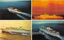 shi062224 - Norwegian Caribbean Lines Miami, Bahamas Ship Postcard Post Card