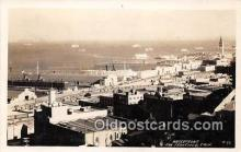 shi062226 - Real Photo - Waterfront San Francisco, California USA Ship Postcard Post Card