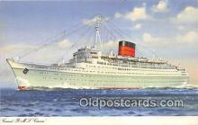 shi062228 - Cunard RMS Caronia  Ship Postcard Post Card