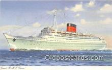 shi062229 - Cunard RMS Caronia  Ship Postcard Post Card