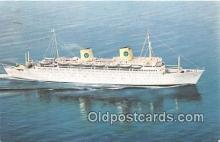 shi062233 - MS Kungsholm Swedish American Line Ship Postcard Post Card