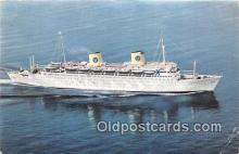 shi062234 - MS Kungsholm Swedish American Line Ship Postcard Post Card