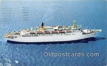 shi062235 - Doric Home Lines Ship Postcard Post Card