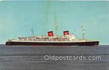 shi062238 - SS Hanseatic Hamburg, Atlantic Line Ship Postcard Post Card